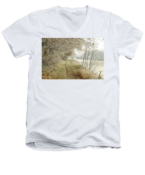 Ice And Mist Men's V-Neck T-Shirt