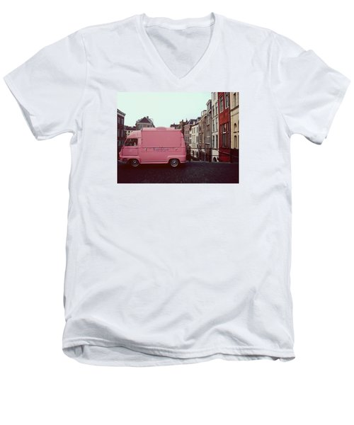 Ice Cream Car Men's V-Neck T-Shirt