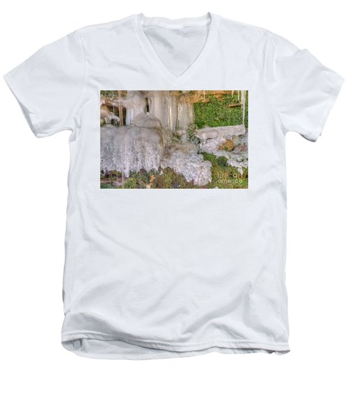 Ice Formations Men's V-Neck T-Shirt