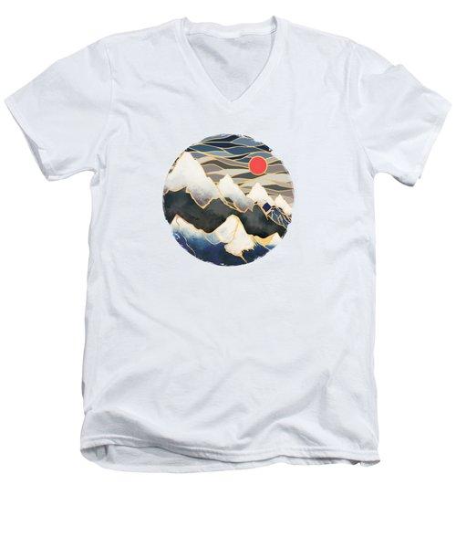 Ice Mountains Men's V-Neck T-Shirt