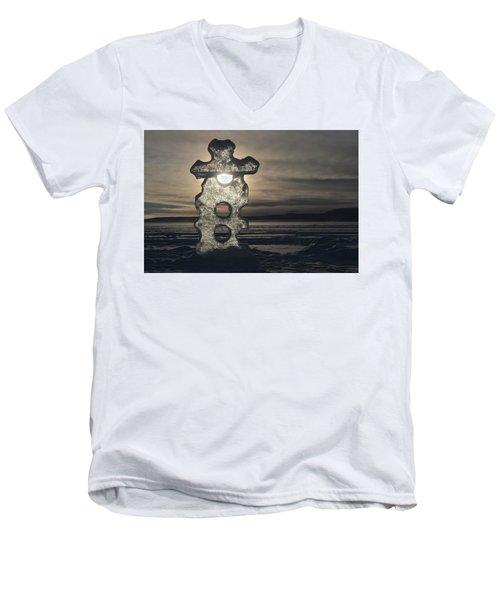 Ice Sculpter Men's V-Neck T-Shirt