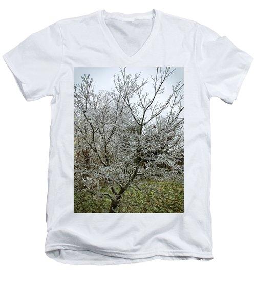Ice Storm Men's V-Neck T-Shirt