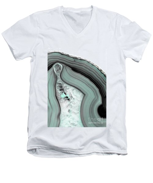 Iced Agate Men's V-Neck T-Shirt
