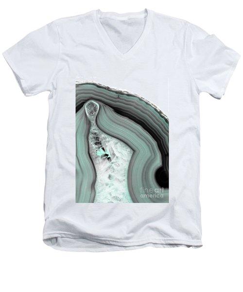 Iced Agate Men's V-Neck T-Shirt