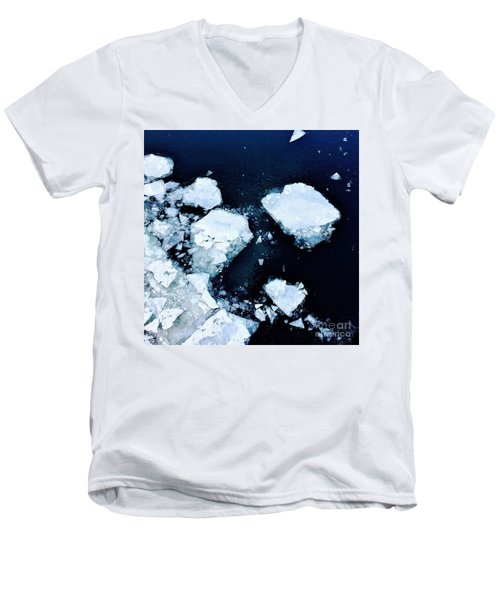 Iced Beauty #1 Men's V-Neck T-Shirt
