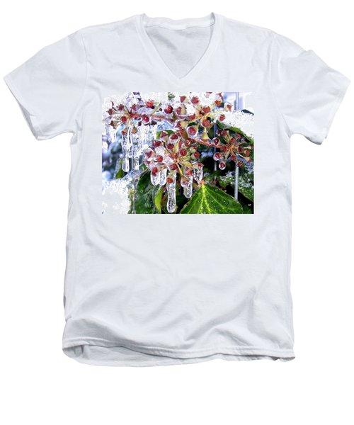 Iced Ivy Men's V-Neck T-Shirt