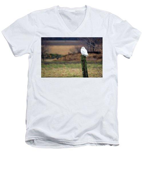 ICU Men's V-Neck T-Shirt