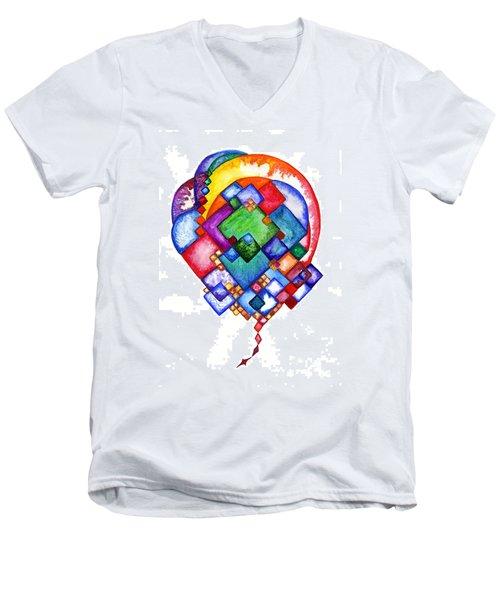 Ideas Born Men's V-Neck T-Shirt