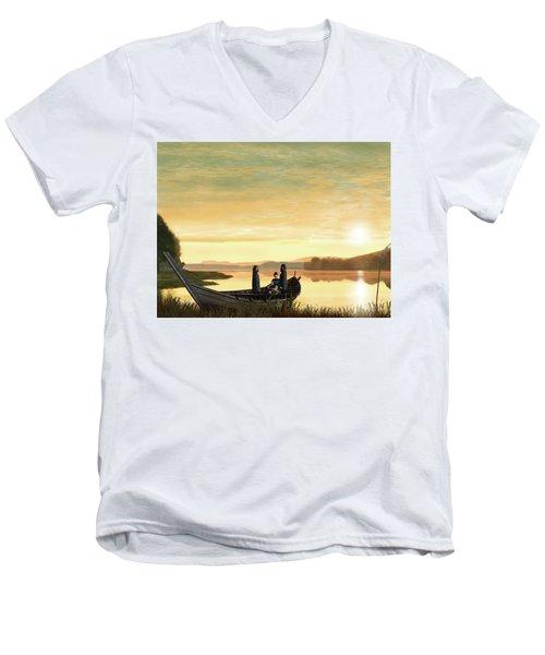 Idylls Of The King Men's V-Neck T-Shirt