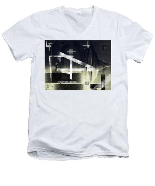 If Men's V-Neck T-Shirt