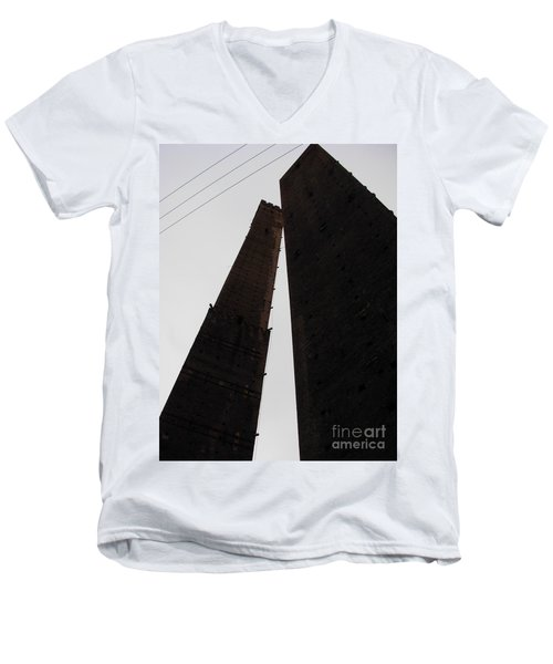 Il Bacio Delle Torri Men's V-Neck T-Shirt