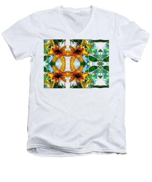 Illusions Men's V-Neck T-Shirt