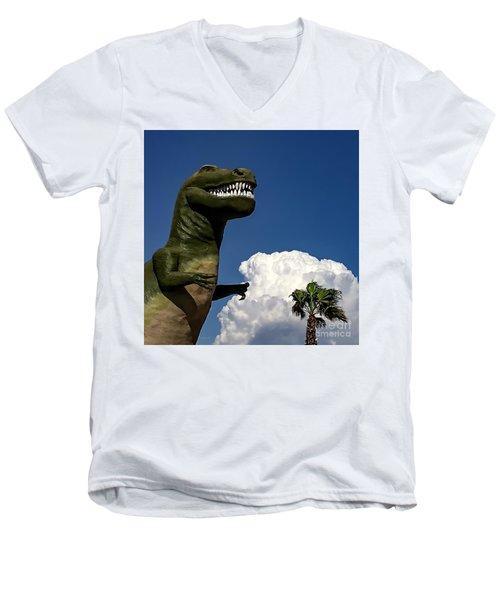 I'm A Nervous Rex Men's V-Neck T-Shirt