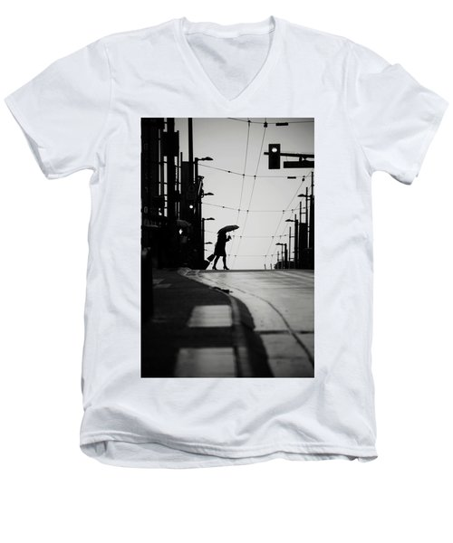 Im Leaving But Never  Men's V-Neck T-Shirt by Empty Wall