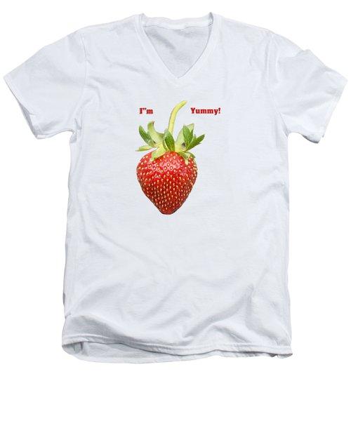 Im Yummy Men's V-Neck T-Shirt