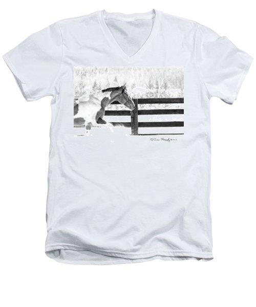 Image #4 Men's V-Neck T-Shirt