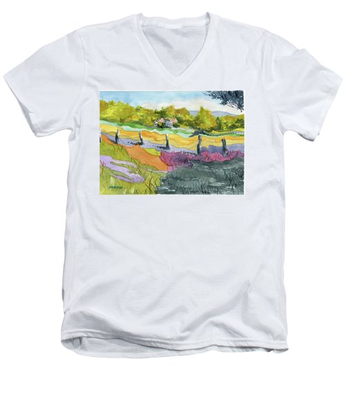 Imagine The Colors Men's V-Neck T-Shirt