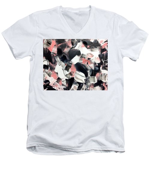 In Abstraction- Pbw No.3 Men's V-Neck T-Shirt