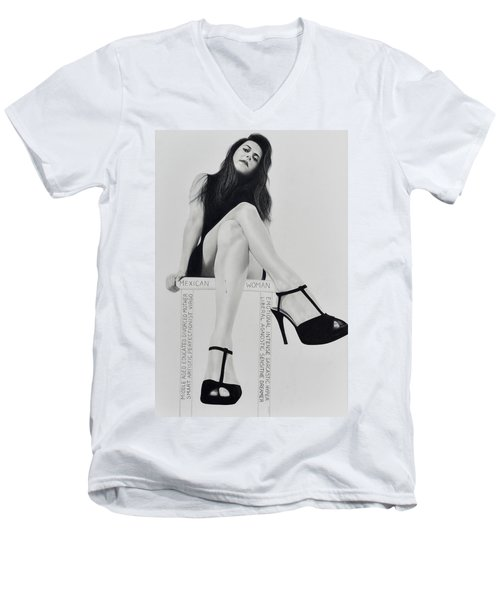 In Essence Men's V-Neck T-Shirt