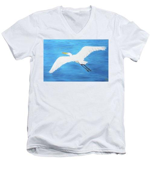In Flight Entertainment Men's V-Neck T-Shirt