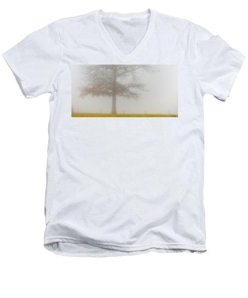 In Retrospect Men's V-Neck T-Shirt by Skip Tribby