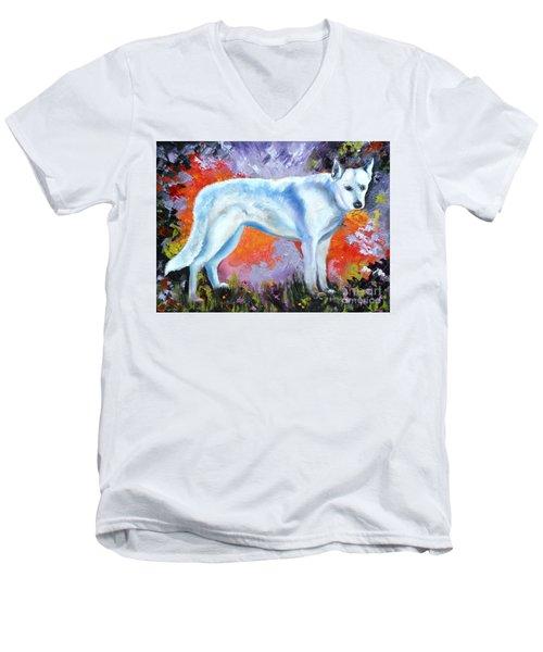 In Shepherd Heaven Men's V-Neck T-Shirt