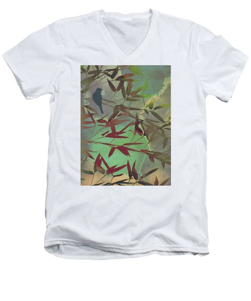 In The Bamboo Forest Men's V-Neck T-Shirt