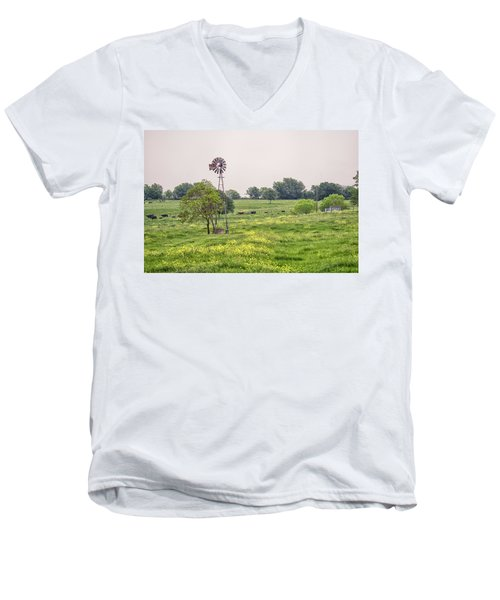 In The Country Men's V-Neck T-Shirt