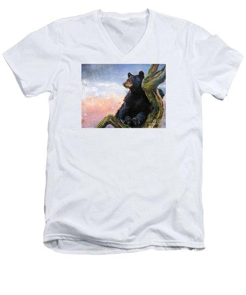 In The Eyes Of Innocence  Men's V-Neck T-Shirt