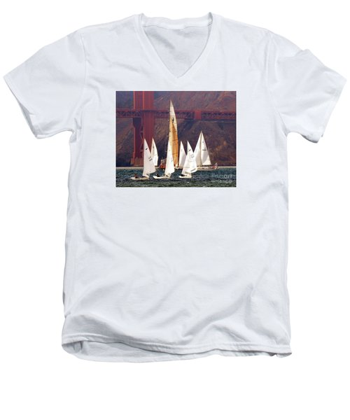 In The Mix Men's V-Neck T-Shirt
