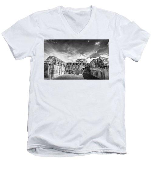 Inca Walls. Men's V-Neck T-Shirt