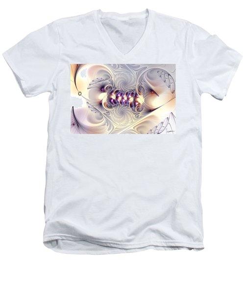 Incandescent Reminiscences Men's V-Neck T-Shirt by Casey Kotas