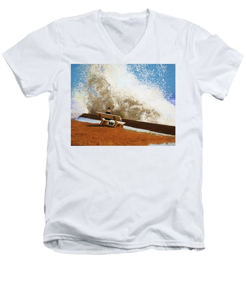 Incoming Men's V-Neck T-Shirt