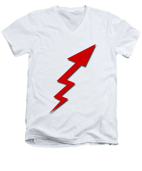 Increase Arrow Men's V-Neck T-Shirt