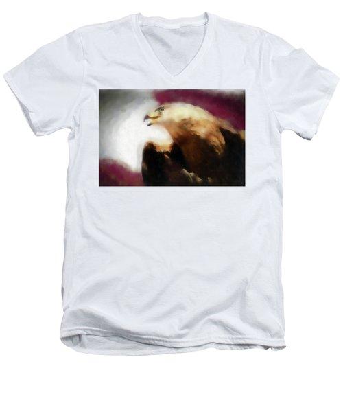 Independence Eagle Men's V-Neck T-Shirt