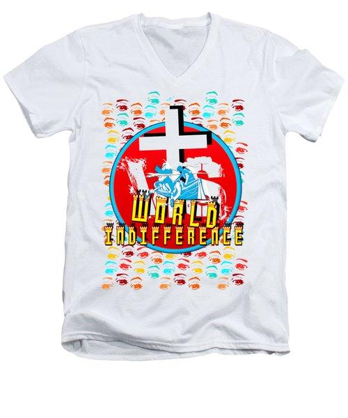 Indifference Men's V-Neck T-Shirt