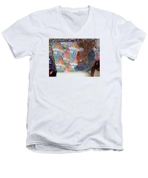 Indigos Men's V-Neck T-Shirt
