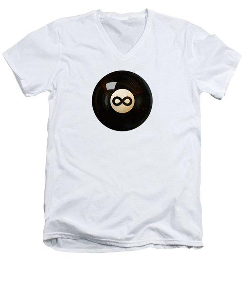 Infinity Ball Men's V-Neck T-Shirt