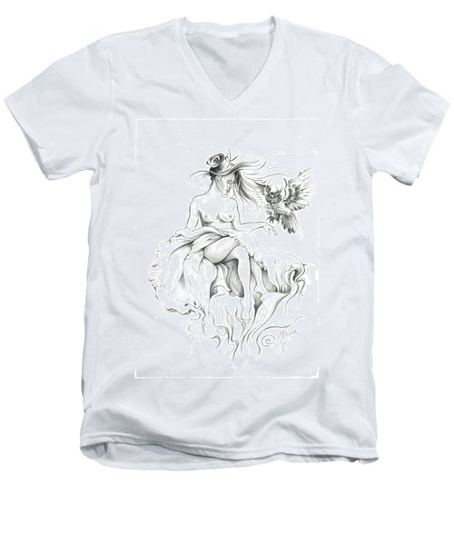 Inhabitants Of The Sky Realm Men's V-Neck T-Shirt