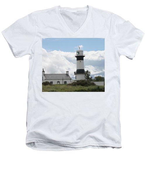 Inishowen Lighthouse Men's V-Neck T-Shirt