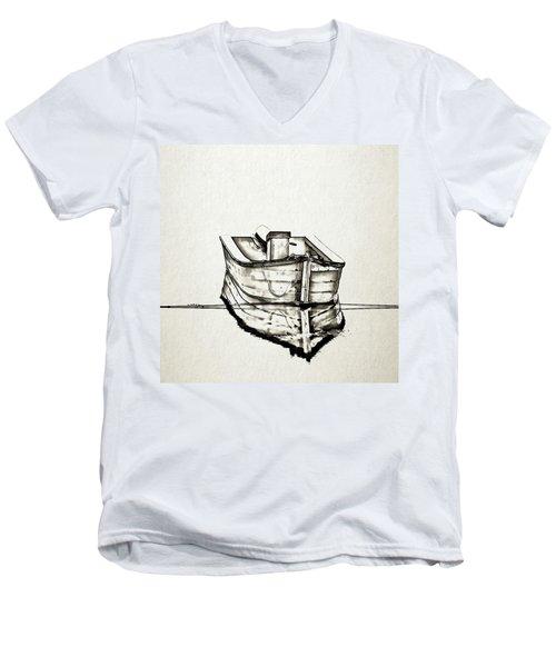 Ink Boat Men's V-Neck T-Shirt
