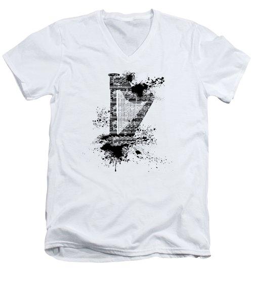 Inked Harp Men's V-Neck T-Shirt