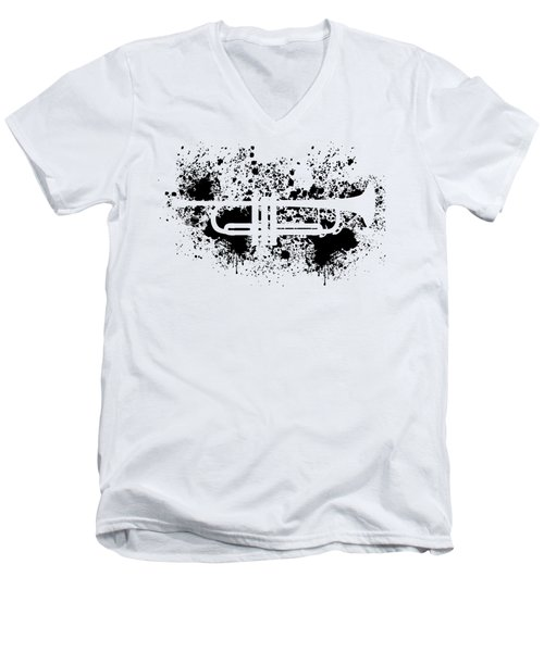 Inked Trumpet Men's V-Neck T-Shirt