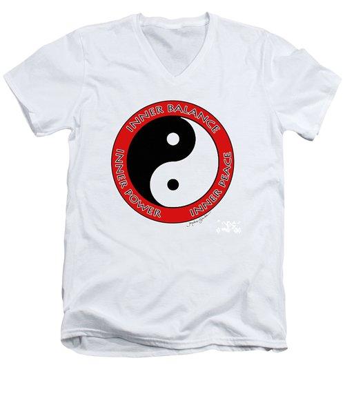 Inner Peace Men's V-Neck T-Shirt