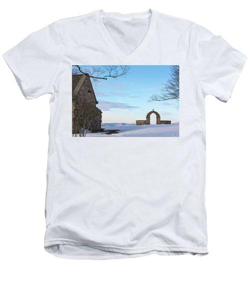 Inner Peace Of Pastel Koolness Men's V-Neck T-Shirt