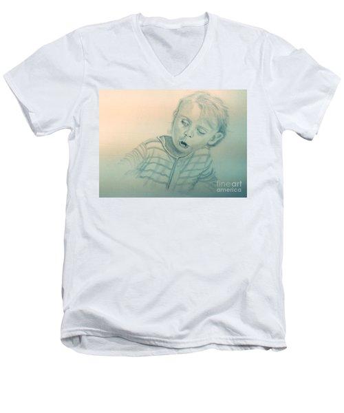 Inquisitive Child Men's V-Neck T-Shirt