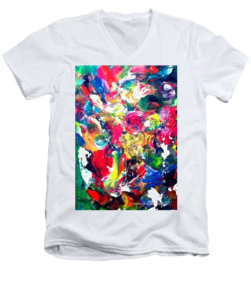 Inside My Mind 3 Men's V-Neck T-Shirt