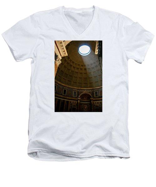 Inside The Pantheon Men's V-Neck T-Shirt by Rainer Kersten