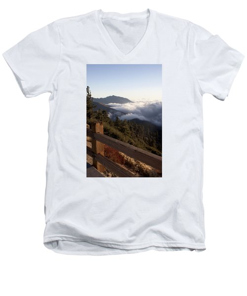 Inspiration Point Men's V-Neck T-Shirt by Ivete Basso Photography