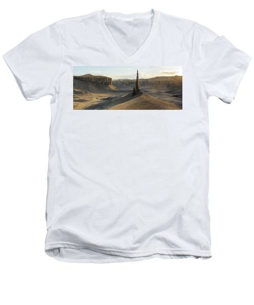 Men's V-Neck T-Shirt featuring the photograph Inspired Light by Dustin LeFevre